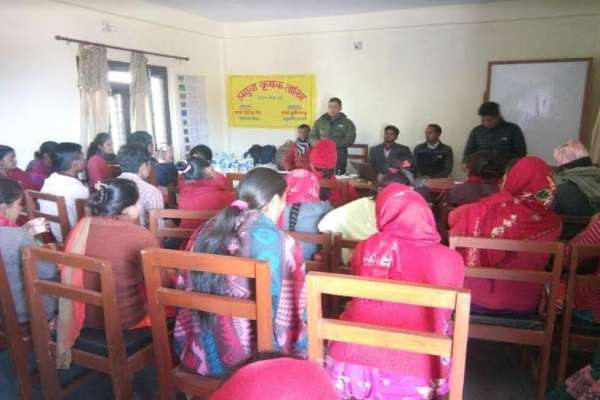 कपुरकोटमा तीन जिल्लाका किसानलाई तालिम प्रदान
