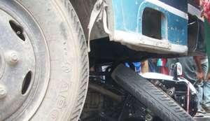नुवाकोटमा दुर्घटना: एकको मृत्यु, तीन गम्भीर