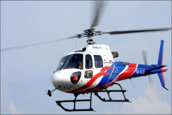 खप्तड घुम्न हेलिकप्टरको व्यवस्था