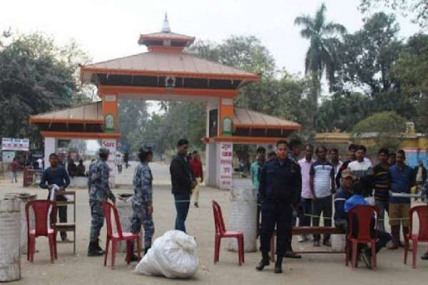 सीमा नाका बन्दः नेपालगञ्जमा चहलपहल